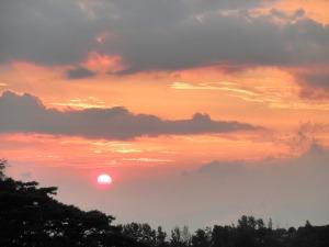 sunset / 1-22-2011